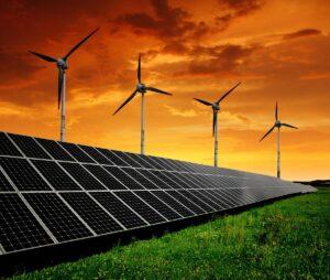 Solar inverter farm