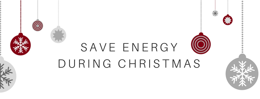Energy saving during Christmas
