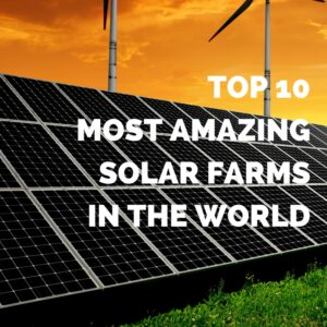 amazing solar farms