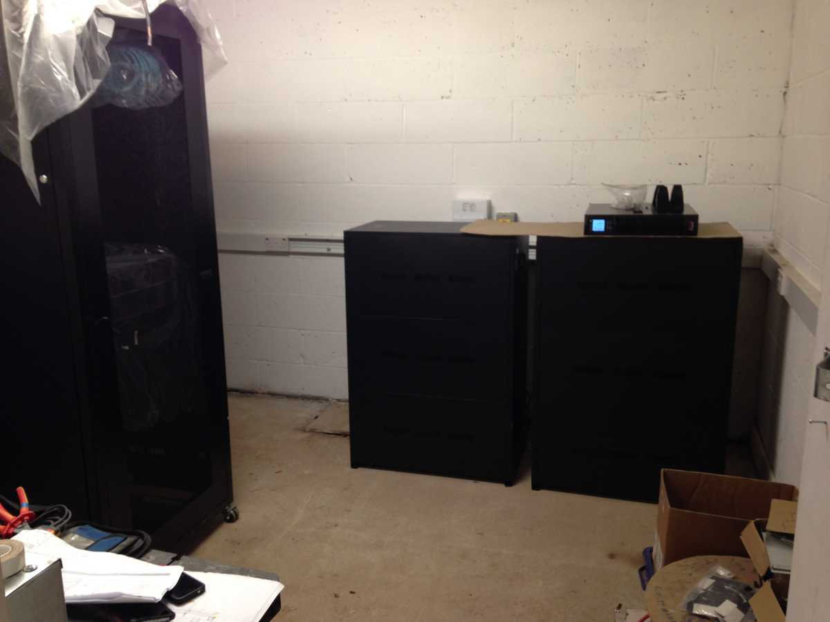 Install complete - b16 cabinet