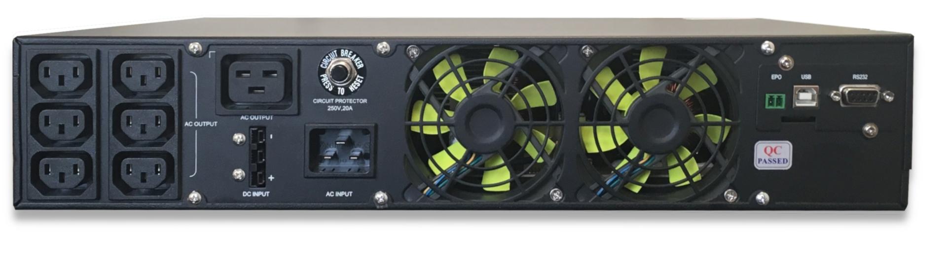 AG1500S ReGenerator Rear Panel