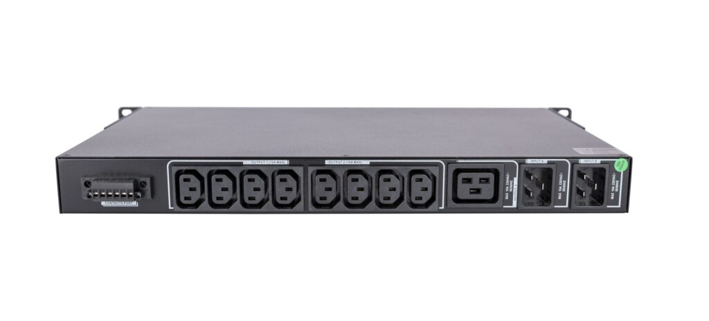 Automatic Transfer Switch - Rear Panel
