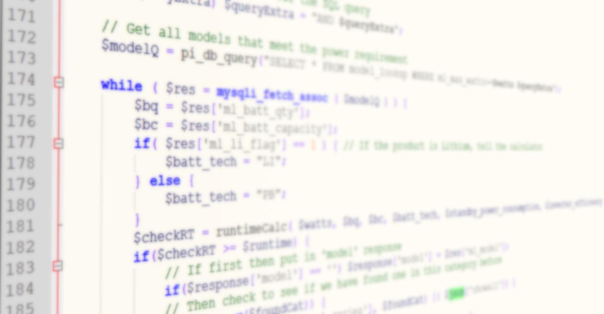 UPS Runtime API Code