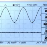 Sine Wave Scope Trace